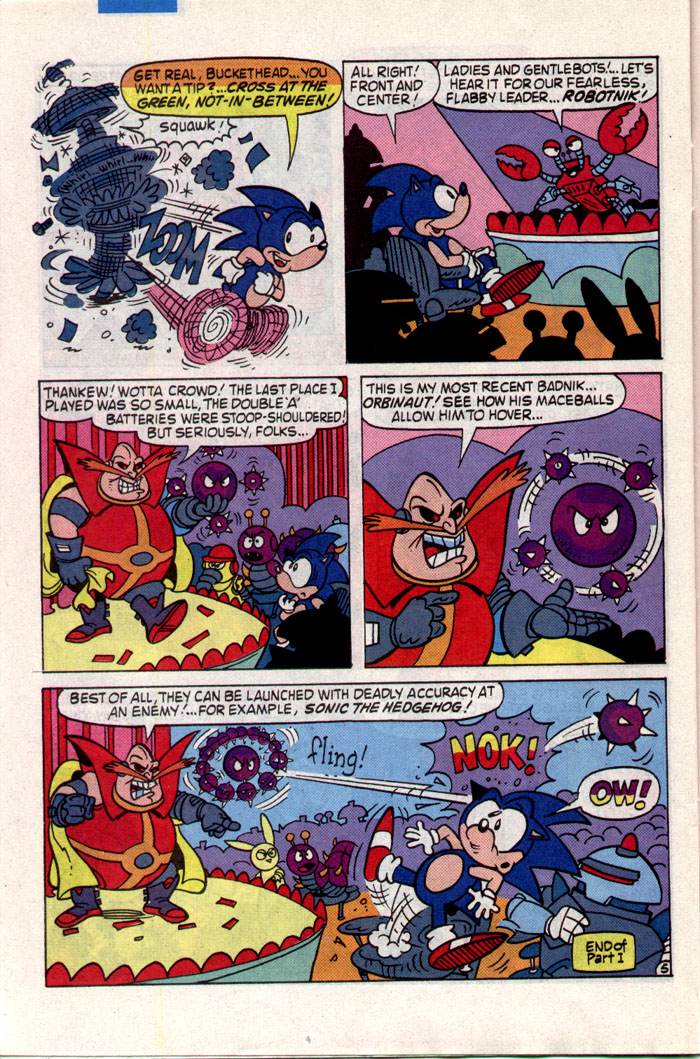 Read online Sonic The Hedgehog comic -  Issue #1 - 20
