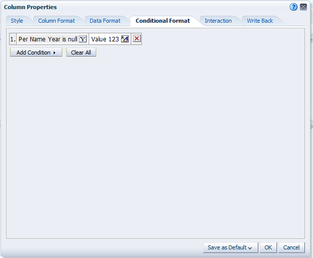 Hypersbase: OBIEE - Formatting Calculated Items in a Pivot Table