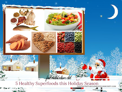 5 Healthy Superfoods You Can Eat This Holiday Season