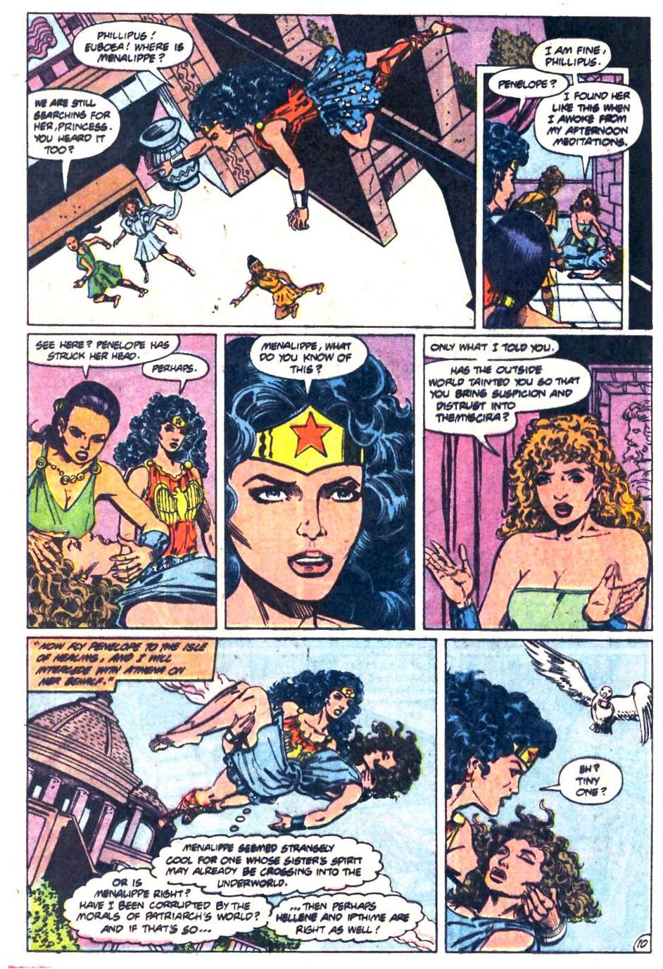 Read online Wonder Woman (1987) comic -  Issue #36 - 11