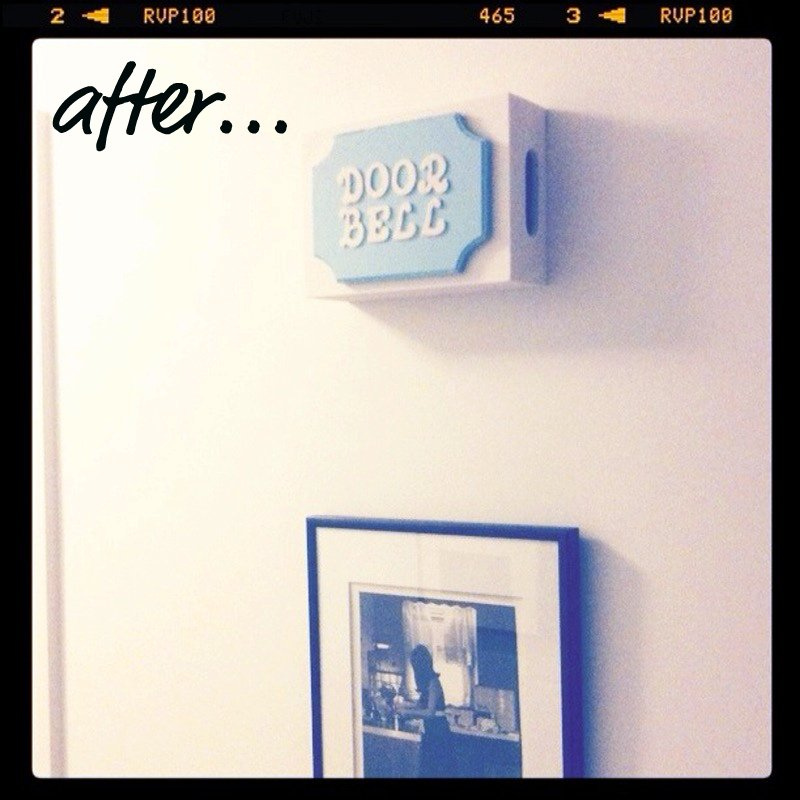 Small Town Chic Diy Doorbell Cover