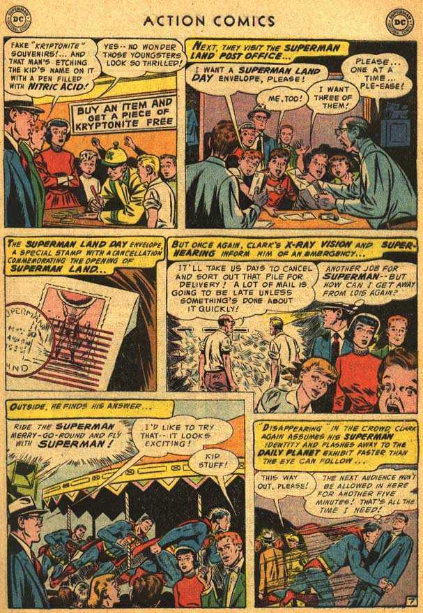 Read online Action Comics (1938) comic -  Issue #210 - 11