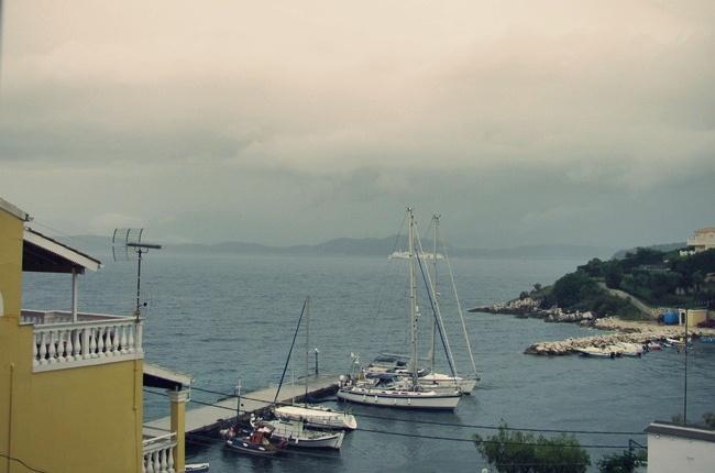 ostrvo Krf kisovito vreme