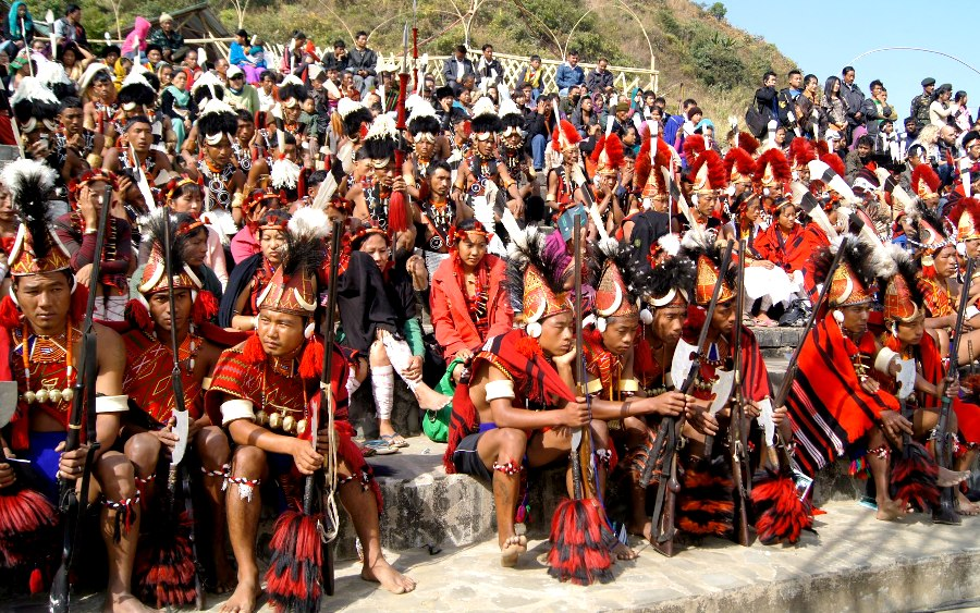 Hornbill Festival, Kisama Village - Sudeepta Barua photography (© EF News International)