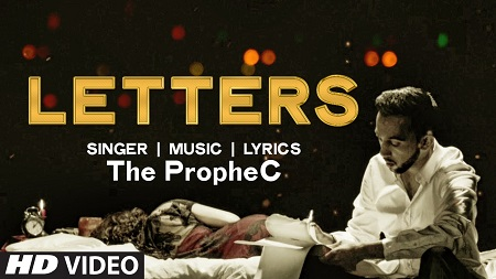 LETTERS Music Video The PropheC New Indian Bollywood Song 2016