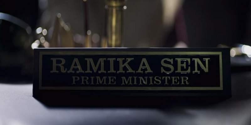 Ramika Sen Prime Minister KGF Chapter 1