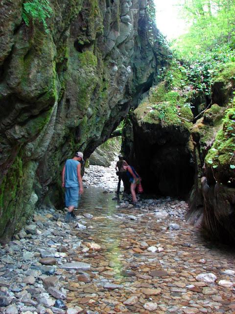 Тоннель в Мамедовом ущелье