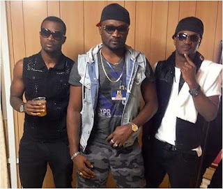 Video: PSquare's Peter, Paul and Jude Okoye fight each other at Keyamo's office
