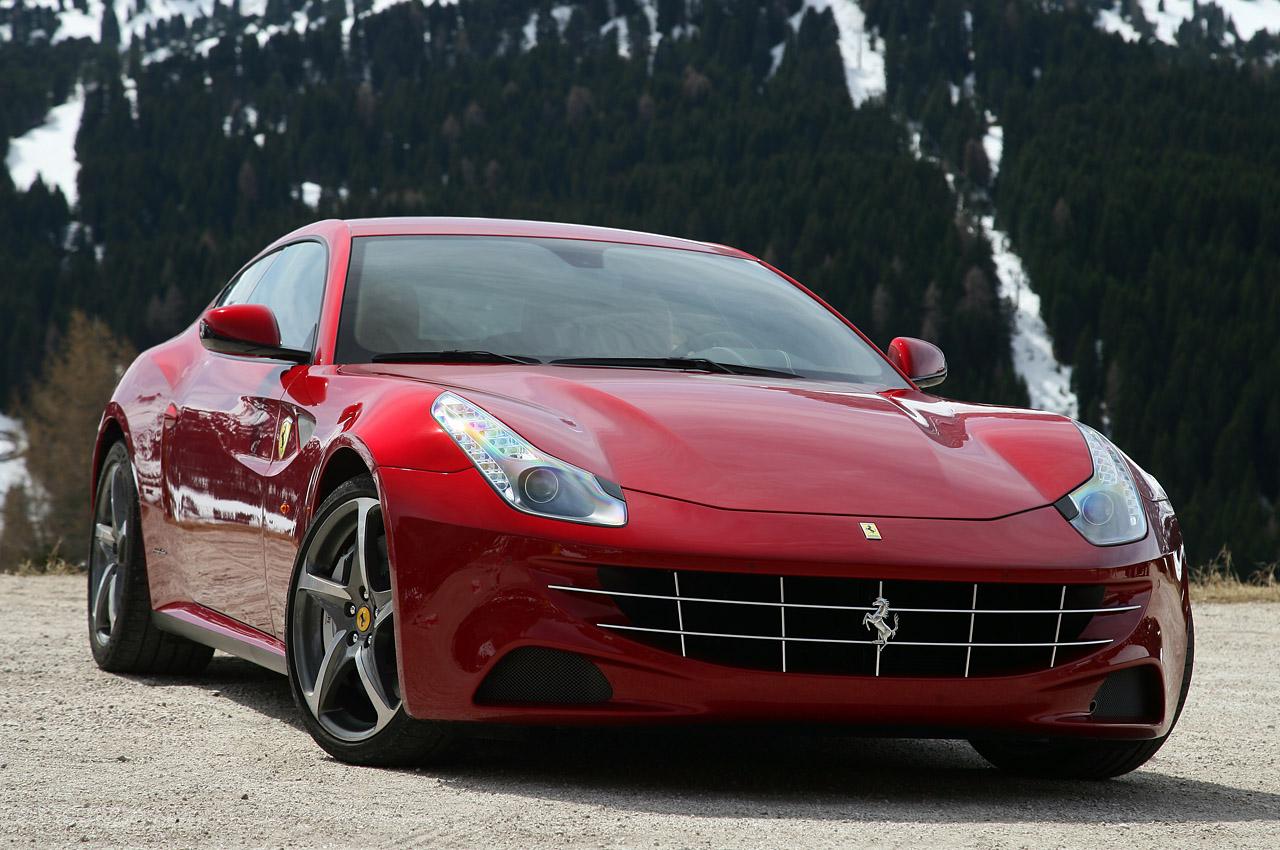 2012 Ferrari FF GT Red