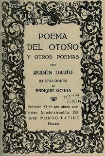 Rubén Darío, Amor y poesía, Ancile