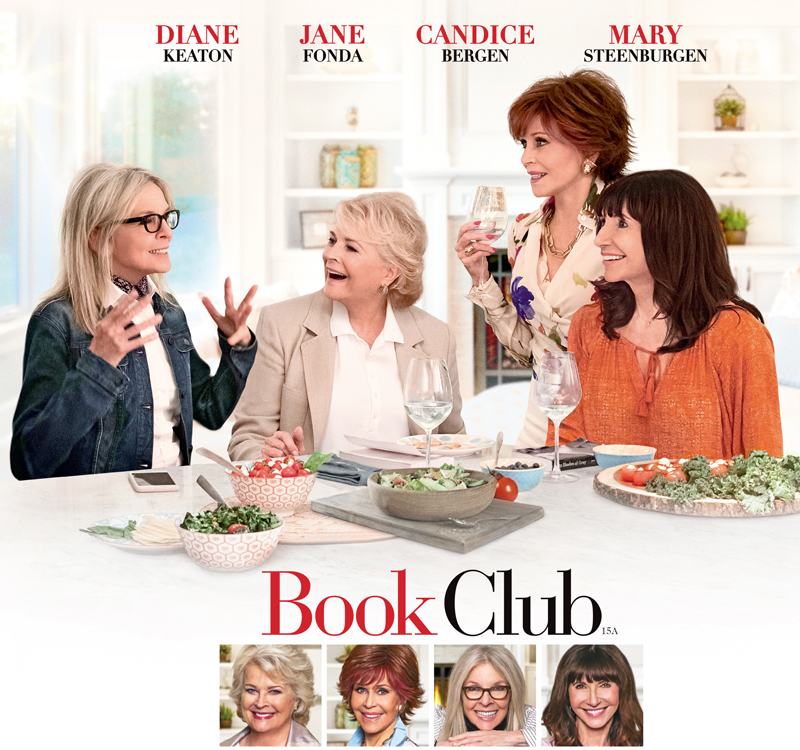 Diane Keaton, Jane Fonda in Book Club