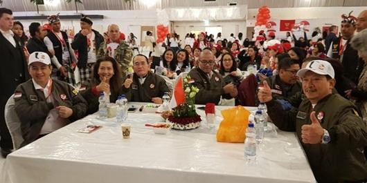 Dukungan WNI Di Eropa Untuk Jokowi-Ma'ruf