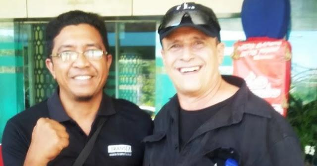 Barry Prima saat berlibur di Labuan Bajo - Flores