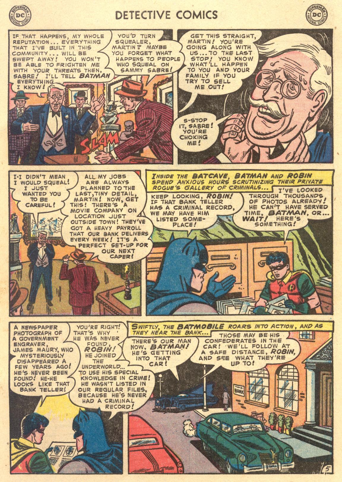 Read online Detective Comics (1937) comic -  Issue #194 - 7