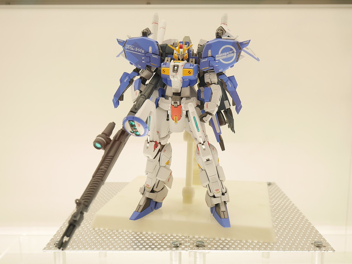 GUNDAM GUY: Ka Siguature x Robot Spirits (SIDE MS) Ex-S Gundam - On Display @ Tamashii Nation ...