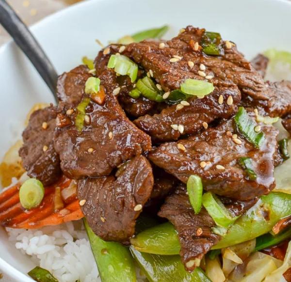 Delicious Beef Teriyaki