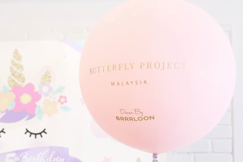 The Butterfly Project, Butterfly 5th Birthday, Tammy Lim, Rawlins wins Best Dressed, Trollbeads, NYX Cosmetics, Brrrloon, Everyday Flowers, GNG Studio Booth, 50 Gram, belif, Unicorn themed birthday, Koji, Wanderlust Things,