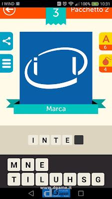 Iconica Italia Pop Logo Quiz soluzione pacchetto 2 livelli 3-50