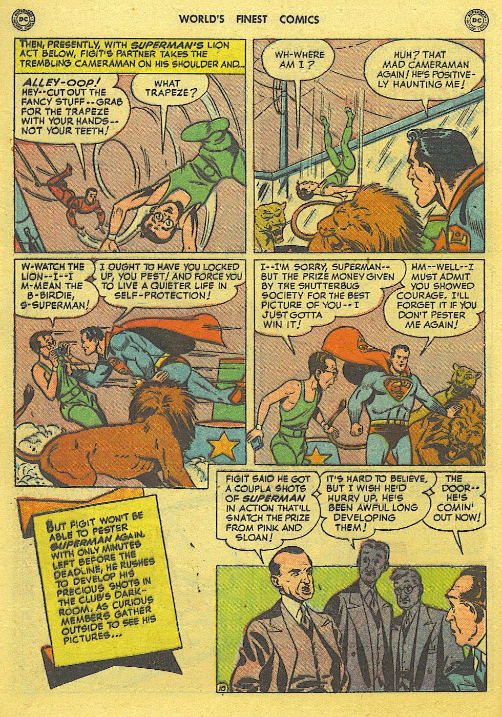 Read online World's Finest Comics comic -  Issue #49 - 13
