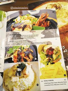 Harga 2 Papali steak house Padang