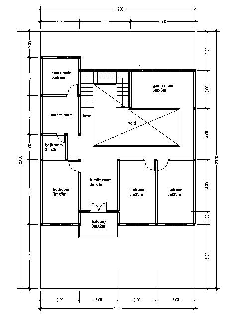 15square Metres House Ideas: HOME BLUEPRINT 300 Square Meters