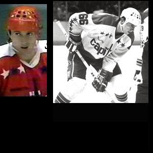 Aging Czech star Milan Novy (Yes, #66!) skated one season for the Caps in 1982-83, scoring 18 G, 30 A (Book Pg. 230)