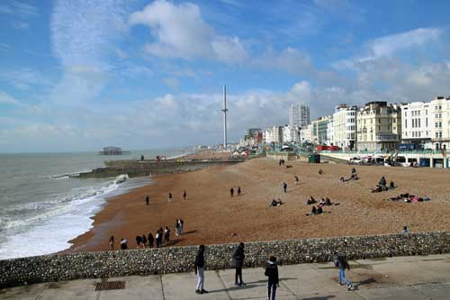 Brighton Beach, Brighton, Sussex.