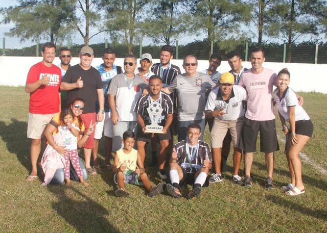 Com o campo lotado e partida bastante disputada, a equipe do Esporte  conquistou o bicampeonato da Copa dos Campeões Fut do Valle 2017
