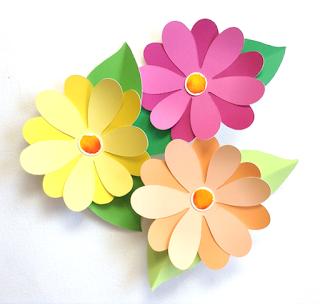 Nunca Mas Aburrido Lindas Ideas Con Flores De Papel