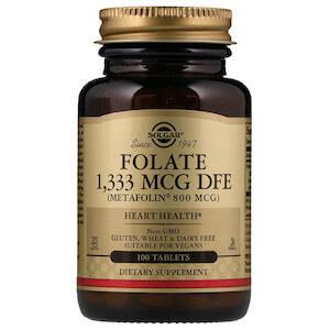Solgar - Folate, 1,333 mcg DFE