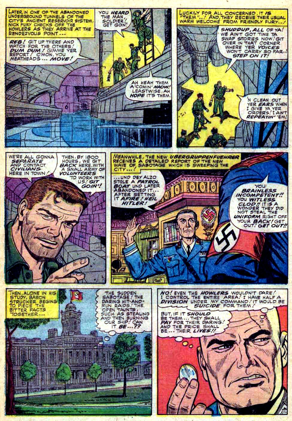 Read online Sgt. Fury comic -  Issue #28 - 16