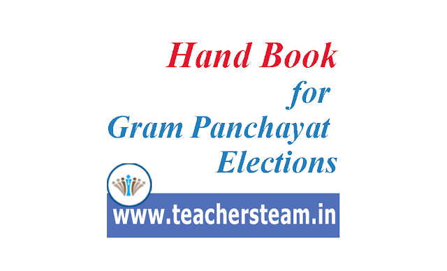 hand book for gram panchayat elections
