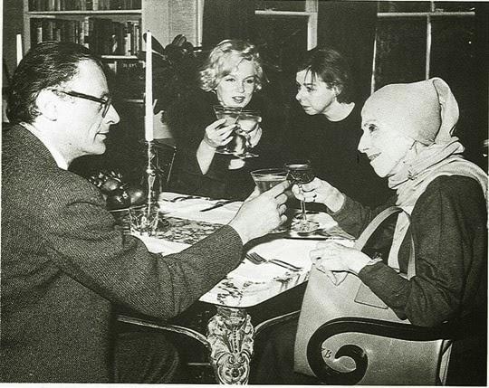 Arthur Miller, Marilyn Monroe, Karen Blixen, Carson McCullers