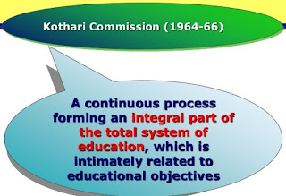 Education Commission or Kothari Commission