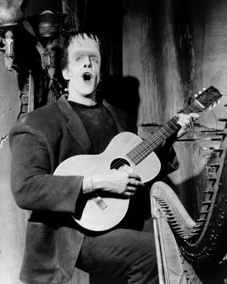 Herman Munster, Halloween Rock music playlist