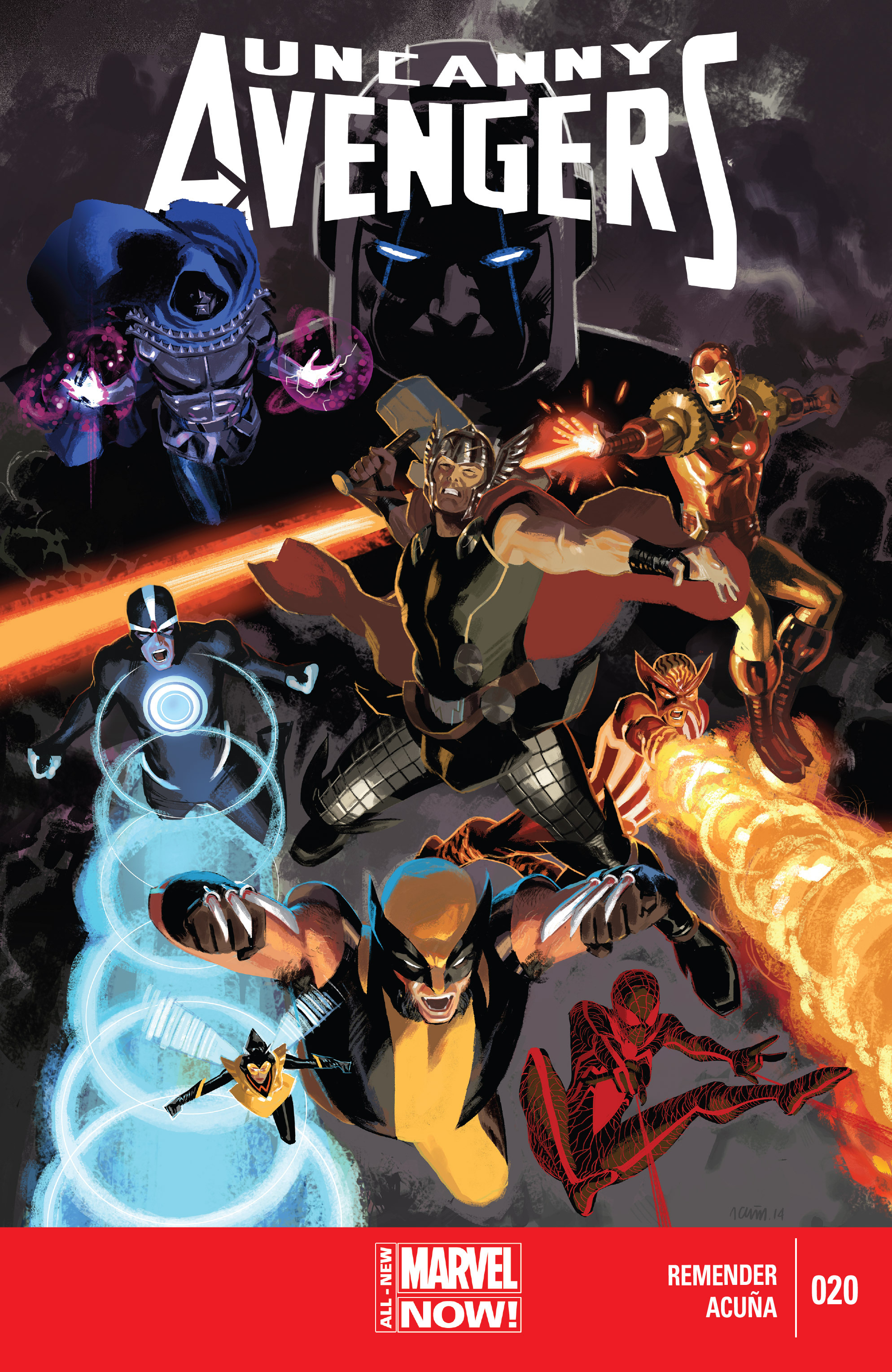 Read online Uncanny Avengers (2012) comic -  Issue #20 - 1