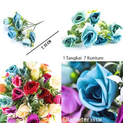Bunga Plastik / Bunga Artificial Rose (Seri C98)