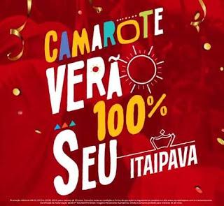 Promoção Camarote Cerveja Itaipava Verão 100% Seu - Você e 19 Amigos Casa Verão