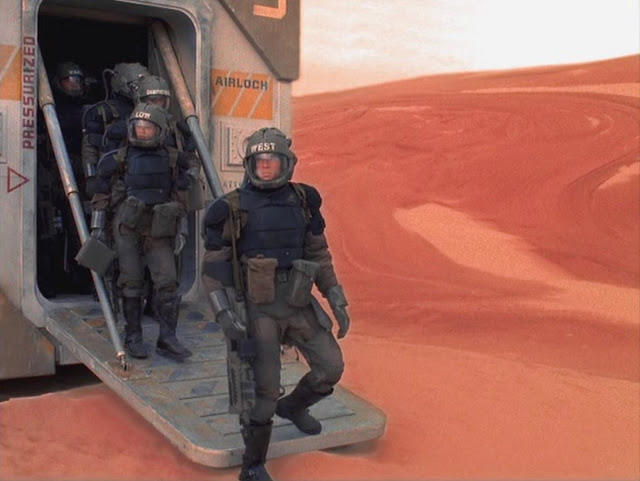 Marines on Mars - image from Space: Above and Beyond TV series