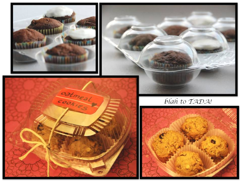 Blah To TADA Bake Sale Packaging