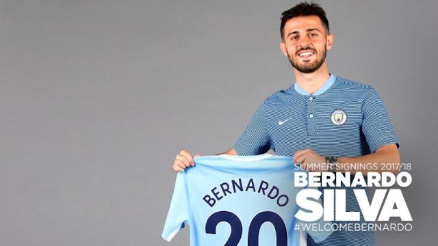 OFICIAL: Bernardo Silva é o novo reforço do Manchester City