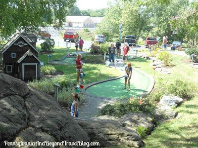 Miniature Golf at Adventure Sports in Hershey
