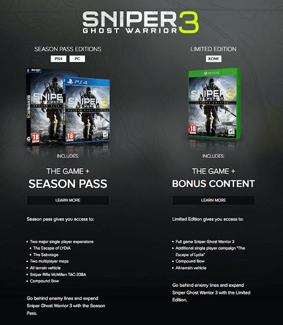 Sniper: Ghost Warrior 3 принижают Xbox One