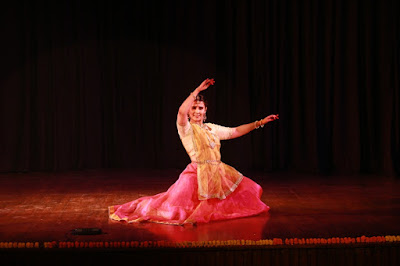 Kartika Singh Performing Draupadi Cheer Haran, one of the pieces from her Guru's repertoire