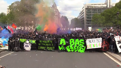 black bloc 1er mai paris
