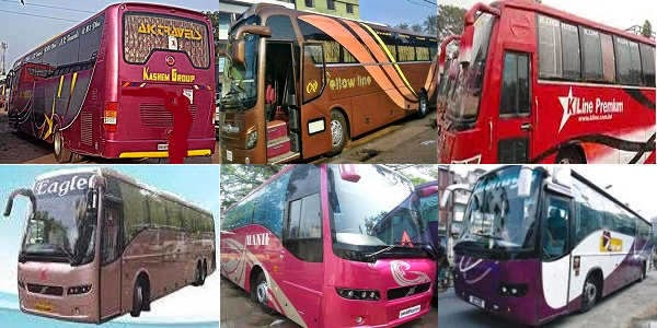 Bus Services of Dhaka-Jessore-Satkhira Route