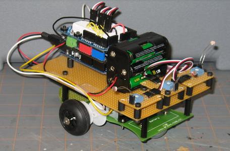 Robot LFR dengan Arduino