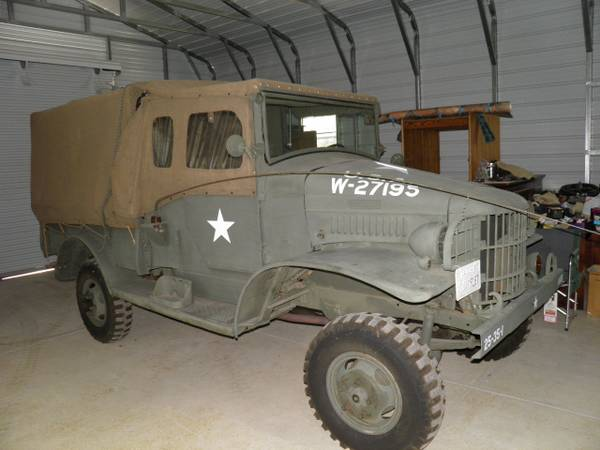 Early Production, WC3 Military 4x4 Truck