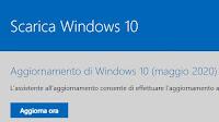 Aggiornare Windows 10 scaricando l'Update 2004 di Maggio 2020