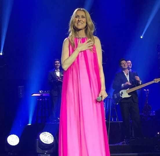 CELINE DION IN SINGAPORE MARINA BAY SANDS